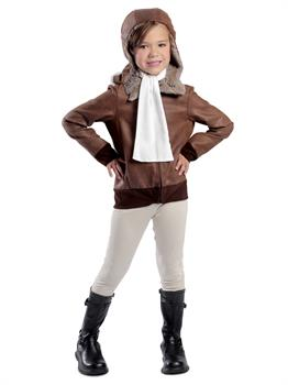 Girls Amelia the Aviator Costume