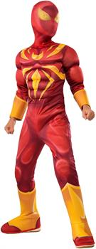 Iron Spider Deluxe Muscle Chest Kids Costume