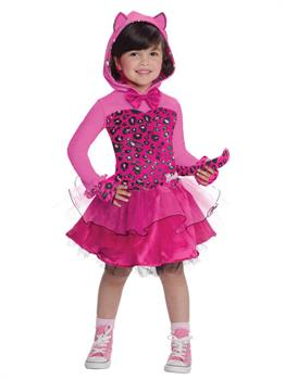 Barbie Pink Kitty Kids Costume