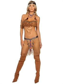 Sexy Cherokee Warrior Indian Adult Costume