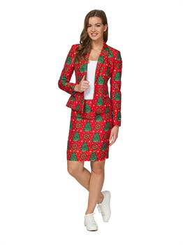 Suitmeister Christmas Green Tree Women's Suit