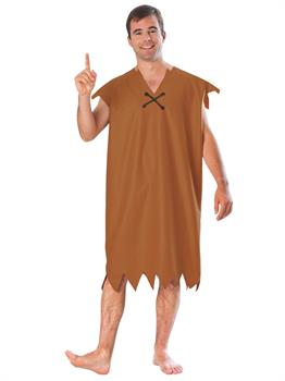 Mens Barney Rubble Costume
