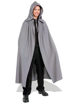 Lord of the Rings Gray Adult Elven Cloak