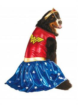 Big Dogs' Wonder Woman Pet Costume