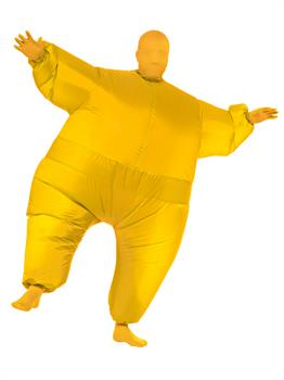 Adult Yellow Inflatable Costume