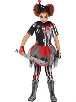 Girls Sinister Circus Costume