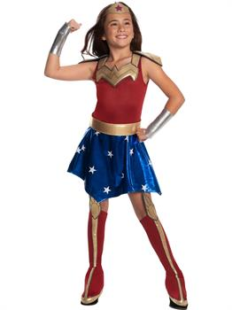 Dc Super Hero Girls Wonder Woman Deluxe Costume