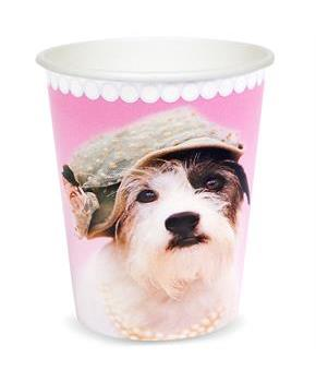 rachaelhale Glamour Dogs 9 oz. Paper Cups
