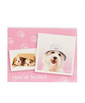 rachaelhale Glamour Dogs Invitations