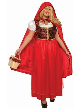 Classic Red Riding Hood - Plus Costume