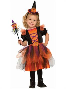 Deluxe Pumpkin Witch Costume