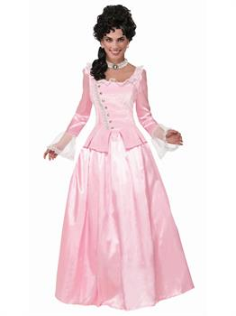Colonial Maiden-Pink Costume