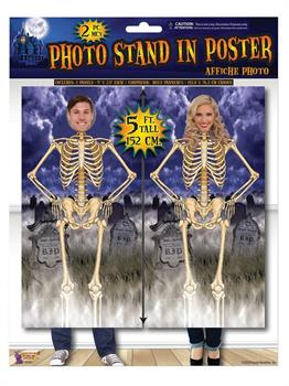 Skeleton Photo Poster