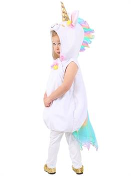 Girls Pastel Unicorn Costume
