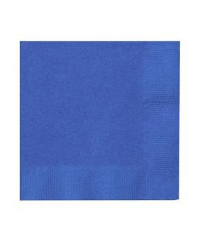 True Blue (Blue) Beverage Napkins