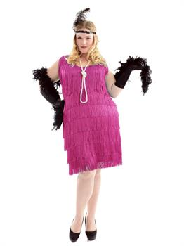 Fuchsia Fashion Flapper