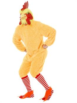 Rocking Rooster-Plus Costume