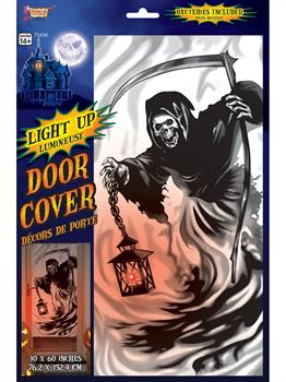 Light Up Door Cover-Reaper