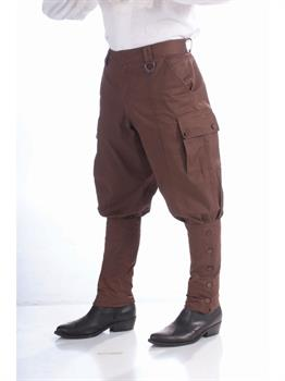 Steampunk Pants-Brown Costume