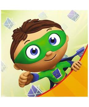 Super Why! Lunch Napkins