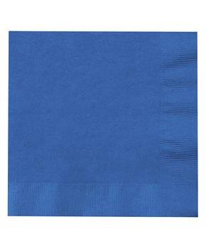 True Blue (Blue) Lunch Napkins (50)