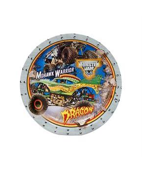 Men's Monster Jam 3D Dessert Plates