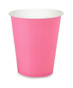 Candy Pink (Hot Pink) 9 oz. Cups