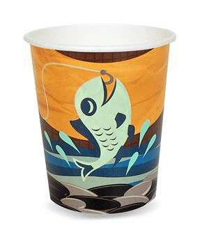 Let's Go Camping 9 oz. Paper Cups