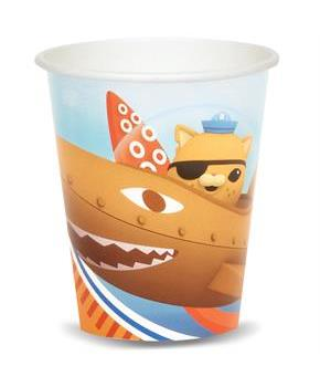 Boys The Octonauts 9 oz. Paper Cups