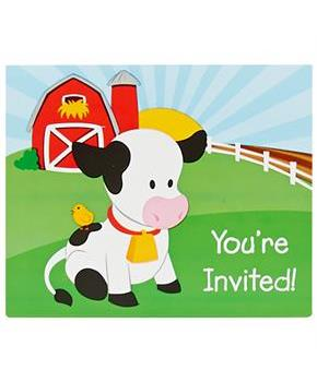 Barnyard Invitations