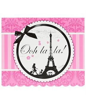 Paris Damask Invitations