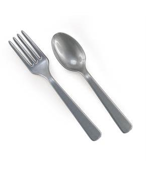 Forks & Spoons - Silver