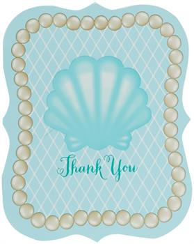 Mermaids Under the Sea Thank You Notes