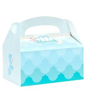 Mermaids Under the Sea Empty Favor Boxes