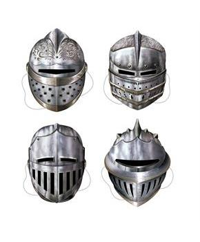 Knight Masks Assorted