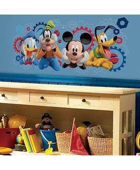 Boys Disney Mickey Mouse Clubhouse Capers Giant Wall Decal