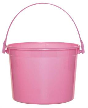 Bright Pink Favor Bucket