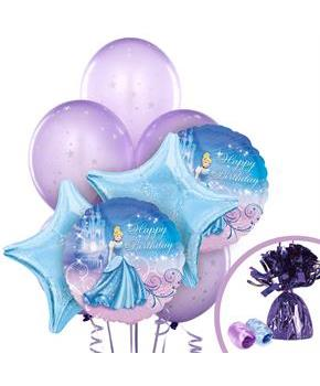 Girls Disney Cinderella Balloon Bouquet
