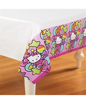 Hello Kitty Rainbow Tablecover
