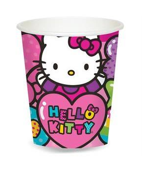 Girls Hello Kitty Rainbow 9 oz. Paper Cups
