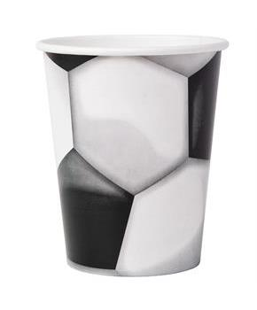 Soccer 9 oz. Paper Cups (8)