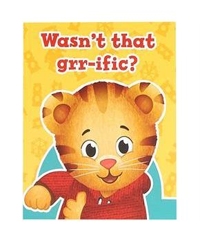 Daniel Tiger's Neighborhood - Thank You Notes