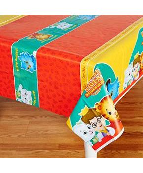 Boys Daniel Tiger's Neighborhood Plastic Tablecover - Multi-colored