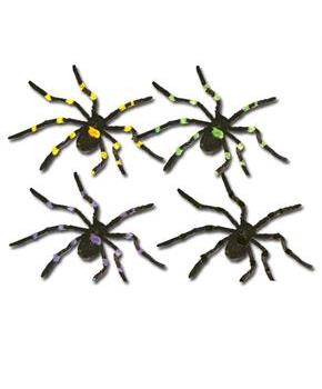"50"" Hairy Posable Spider Asst. (1 count)"