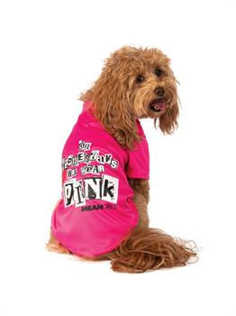 Mean Girls Wednesday Wear Pink Pet Costume