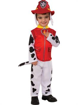 Child Paw Patrol Marshall Costume with Sound