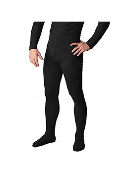 Men's Professional Tights With Feet Black