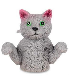 Finger Cats Finger Puppet, One Grey Cat
