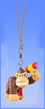 Super Mario Bros Mario Party 4 Clip On/Keychain Figure Donkey Kong