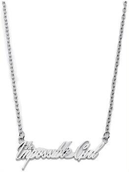 Doctor Who The Impossible Girl Script Necklace